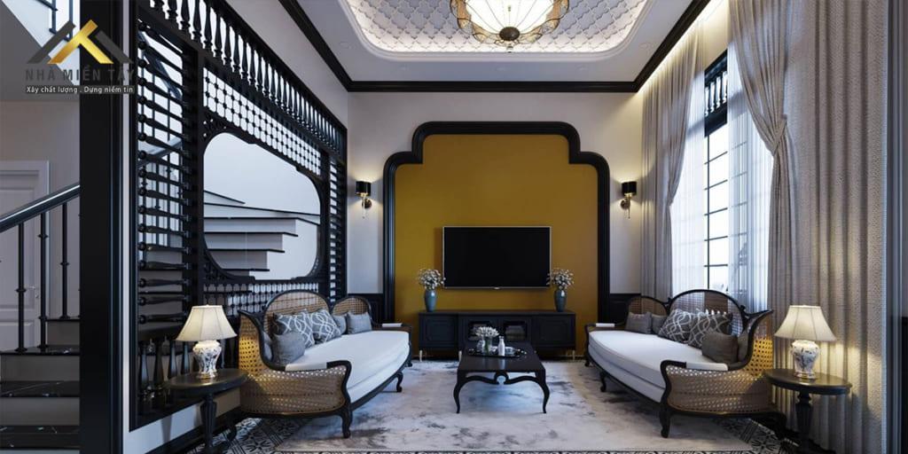 Phong cách nội thất Đông Dương g là sự giao thoa và kết tinh độc đáo giữa Việt Nam và phong cách nội thất từ Pháp. Tạo ra một phong cách mới thể hiện được tinh hoa, bản sắc văn hoá và bề dày lịch sử.