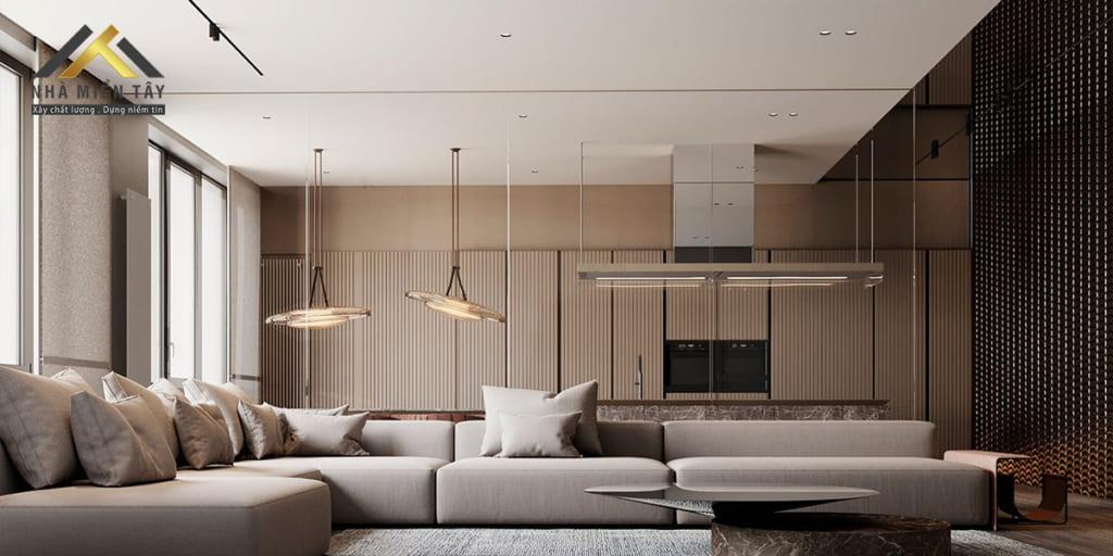 Nội thất đương đại được các chuyên gia đánh giá là tiện dụng hơn bởi các thiết kế ít rườm rà chi tiết. Phong cách thiết kế này sẽ rất phù hợp để cho trang trí nội thất các văn phòng hay nhà ở.