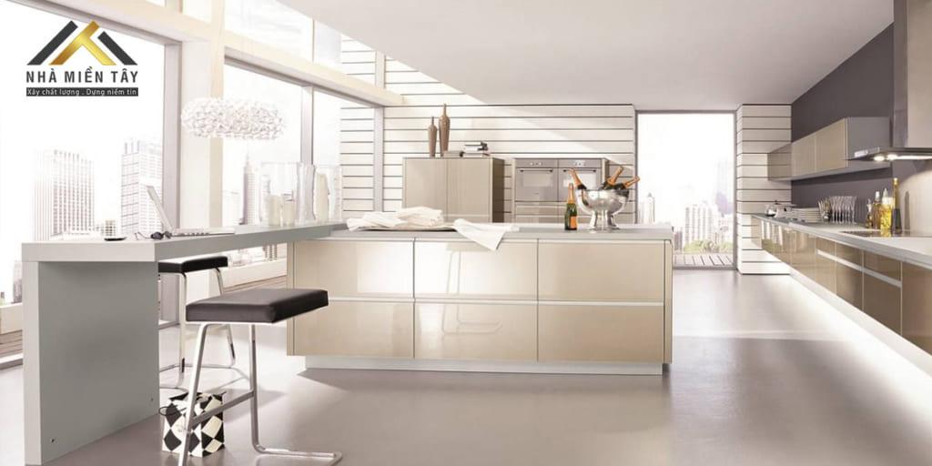 Giá trị của phong cách nội thất Hitech đến từ giá trị thẩm mỹ của các loại vật liệu ứng dụng công nghệ cao trong chế tác.