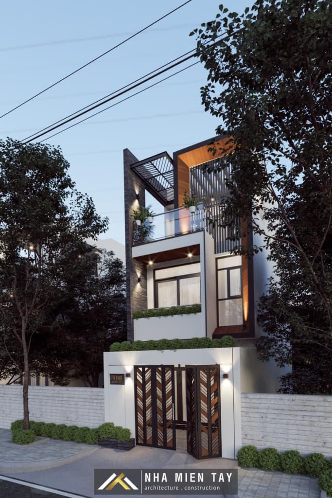 nhà phố 3 tầng mặt tiền 5m
